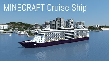 Cruise Ship (full interior) Minecraft Map & Project