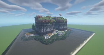 Sea Fort/Bastion Minecraft Map & Project