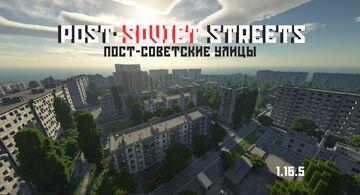 Post-Soviet Streets / Постсоветские улицы Minecraft Map & Project