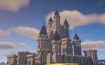 Height fantaisy castle Minecraft Map & Project
