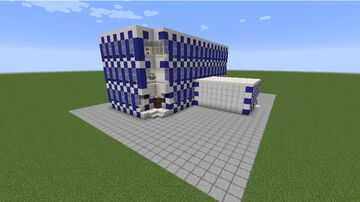 Modern American Police Department Minecraft Map & Project
