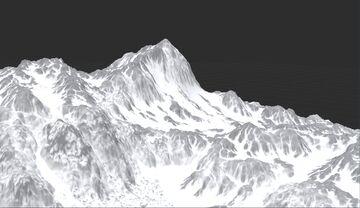 Tundra - Windswept Mountain Minecraft Map & Project