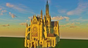 [Minecraft Cinematic] Saint Etiénne de Metz V2 | by SirKarto Minecraft Map & Project