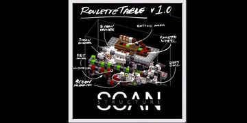 ROULETTE TABLE(structure scan)   MINECRAFT BEDROCK IOS Minecraft Map & Project