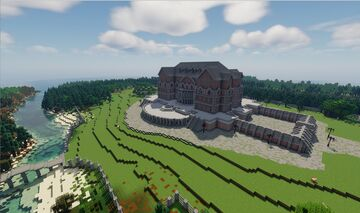 The Riverside Manor Minecraft Map & Project