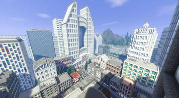 [Modern City] Gallustown Minecraft Map & Project