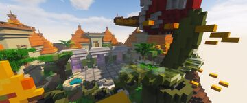 Lobby map - server CheddarCheese Minecraft Map & Project