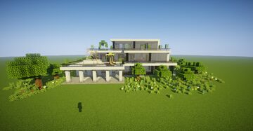 Large Modern House #3 (map download) Minecraft Map & Project