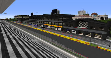 Formula 1 Race Track (the most realistic - download - 1.16.5) Minecraft Map & Project