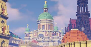 Survival Churches Minecraft Map & Project