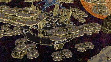 Space-Lobby version 1.8 - 1.17.1 Minecraft Map & Project