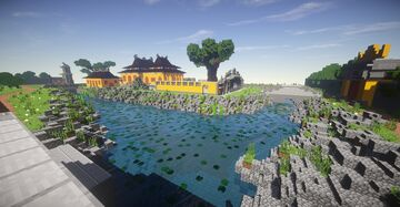 Imperial city: Huế ( Part 25) - Cung Truong Sanh Minecraft Map & Project