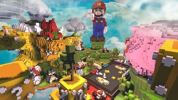 🍄MARIO SPAWN🍄   PhoenixBuilds Minecraft Map & Project