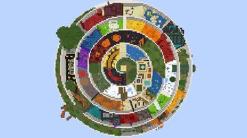 The Parkour Spiral (1.16.4) Minecraft Map & Project