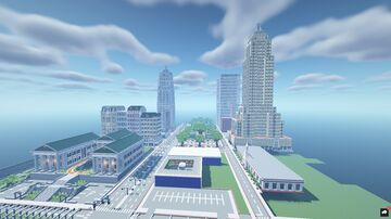 New Erlenberg Skyline 1.0 Minecraft Map & Project