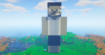 steveee Statue House Minecraft Map & Project