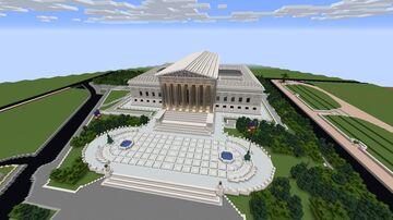 Washington D.C. Minecraft Map & Project