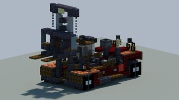 kalmar DCG380-540 Heavy Forklift [With Download] Minecraft Map & Project