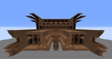 Huge Dirt Castle Exterior Minecraft Map & Project