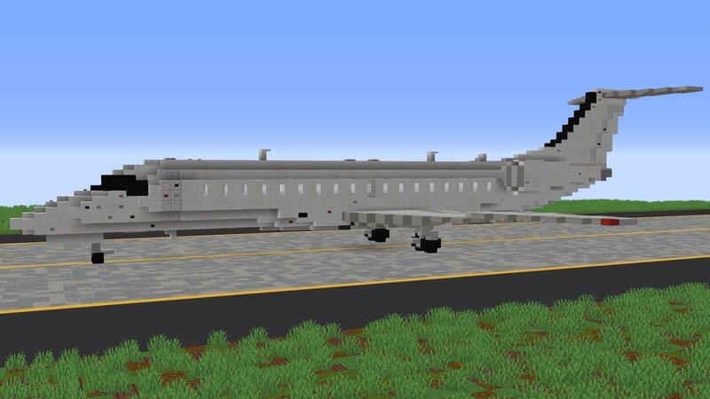 Embraer ERJ-135 - 3:1 Scale + Download