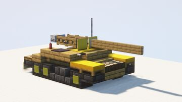 M56 Scorpion tank destroyer - 1.5:1 scale Minecraft Map & Project