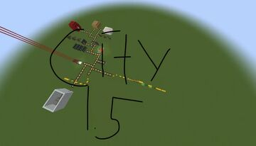 City 1.5 For Bedrock Minecraft Map & Project