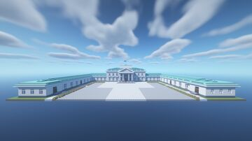 Belweder Palace, Warsaw Minecraft Map & Project