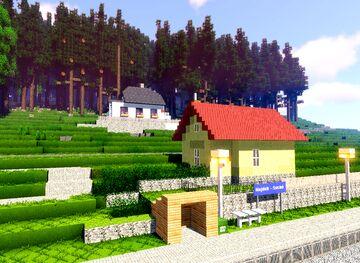 Nova Role zastavka - Nejdek Sucha (part 9 of project railway KVJG 2020) Minecraft Map & Project