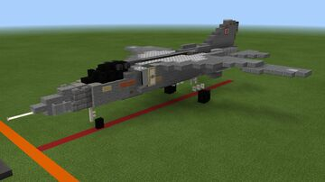 MIG-23MLD Minecraft Map & Project