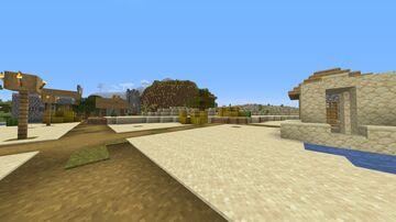 Big Desert Village at spawn Minecraft Map & Project