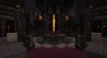 Gothic TARDIS Interior [Unfinished] 1.17+ Minecraft Map & Project