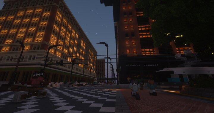 uPCB Campus at dawn
