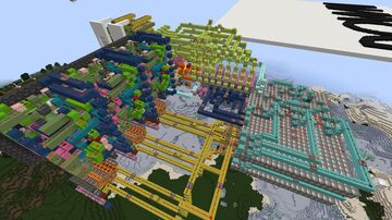 Cubehamster inspired puzzle Minecraft Map & Project