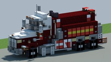 Kenworth T800, Fire tanker [With Download] Minecraft Map & Project