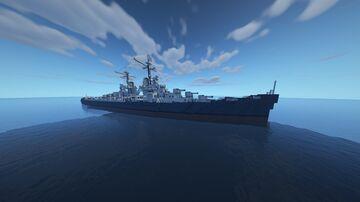 USS Atlanta [CL-51] 1:1 Scale Minecraft Map & Project