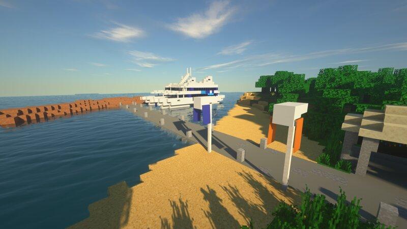 Isla Nublar Ferry Arrival
