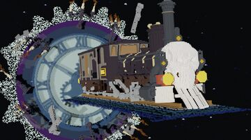 🎃 Ghost Train 🎃 Minecraft Map & Project