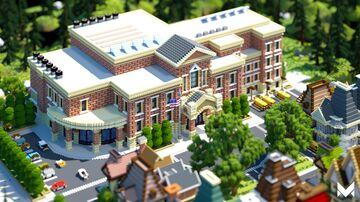 American University Minecraft Map & Project