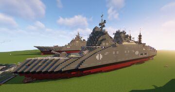 Armageddon Class Destroyer (Fictional) Minecraft Map & Project