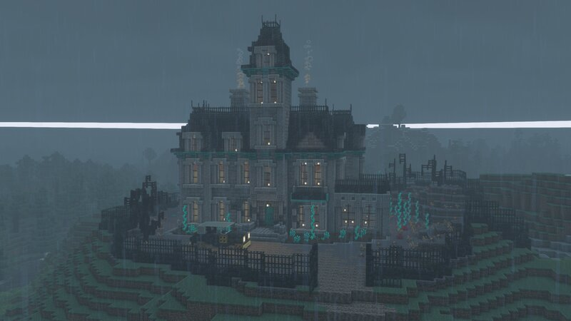 Spooky Addams Family House build - Halloween Haunted House