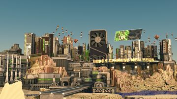 City of Ampere on its Magnificence Minecraft Map & Project