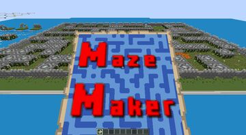 My maze for mazemaker contest Minecraft Map & Project
