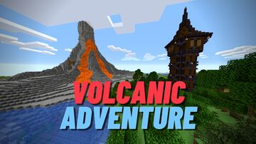 Volcanic Adventure ! Minecraft Map & Project