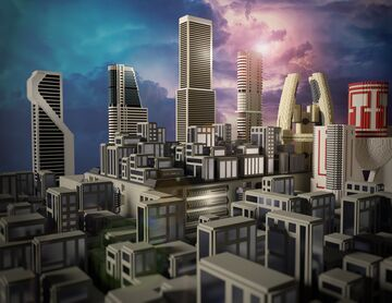 Buildings Minecraft Map & Project