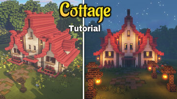 cottage   cottagecore in minecraft Minecraft Map & Project