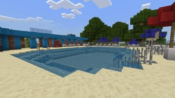 Hawkins Community Pool from Stranger Things! Minecraft Map & Project