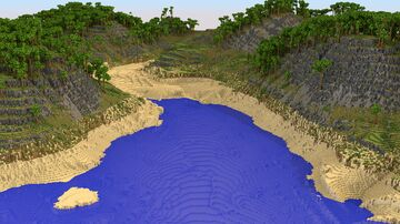 Jungle Island Terrain 2048x2048 | 1.8+ Minecraft Map & Project
