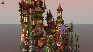 LOBBY MAP   ARABIC   MEDIEVAL Minecraft Map & Project