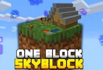 only sky block Minecraft Map & Project