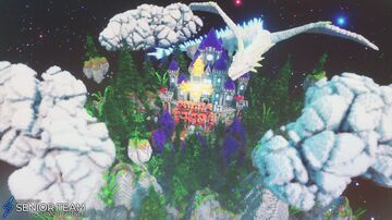 Fantasy Dragon Castle Minecraft Map & Project